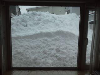 【遊】暖気で落雪